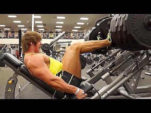 Leg Workout w/ Jeff Seid