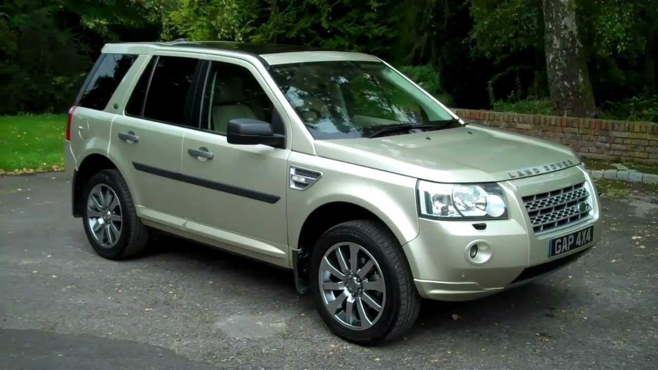 land rover freelander 2 3.2 hse i6 auto 2009/09 www.gap4x4.co.uk