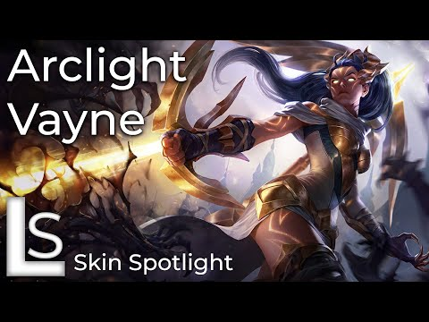 fabriksgiltig fri leverans höstskor Arclight Vayne - Skin Spotlight - Arclight Collection - League of ...