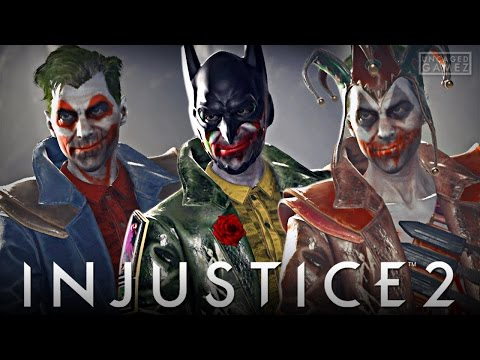 Injustice 2: Joker Gear Showcase, Clashes, & MORE!