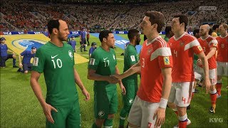 2018 FIFA World Cup Russia - Russia vs Saudi Arabia - Gameplay (HD) [1080p60FPS]