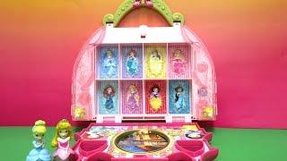 W/EngSub/ディズニープリンセスおもちゃ/リトルキングダム・コスメティック・キャッスル・バニティ/Little Kingdom Cosmetic Castle Vanity