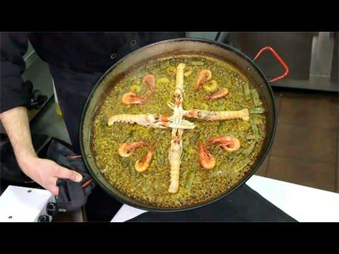 Paella de Marisco auténtica de Valencia