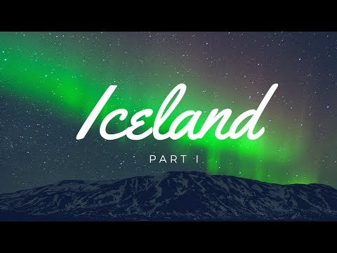 Arriving in Reykjavik Iceland and seeing the Northern Lights || Iceland Travel Vlog
