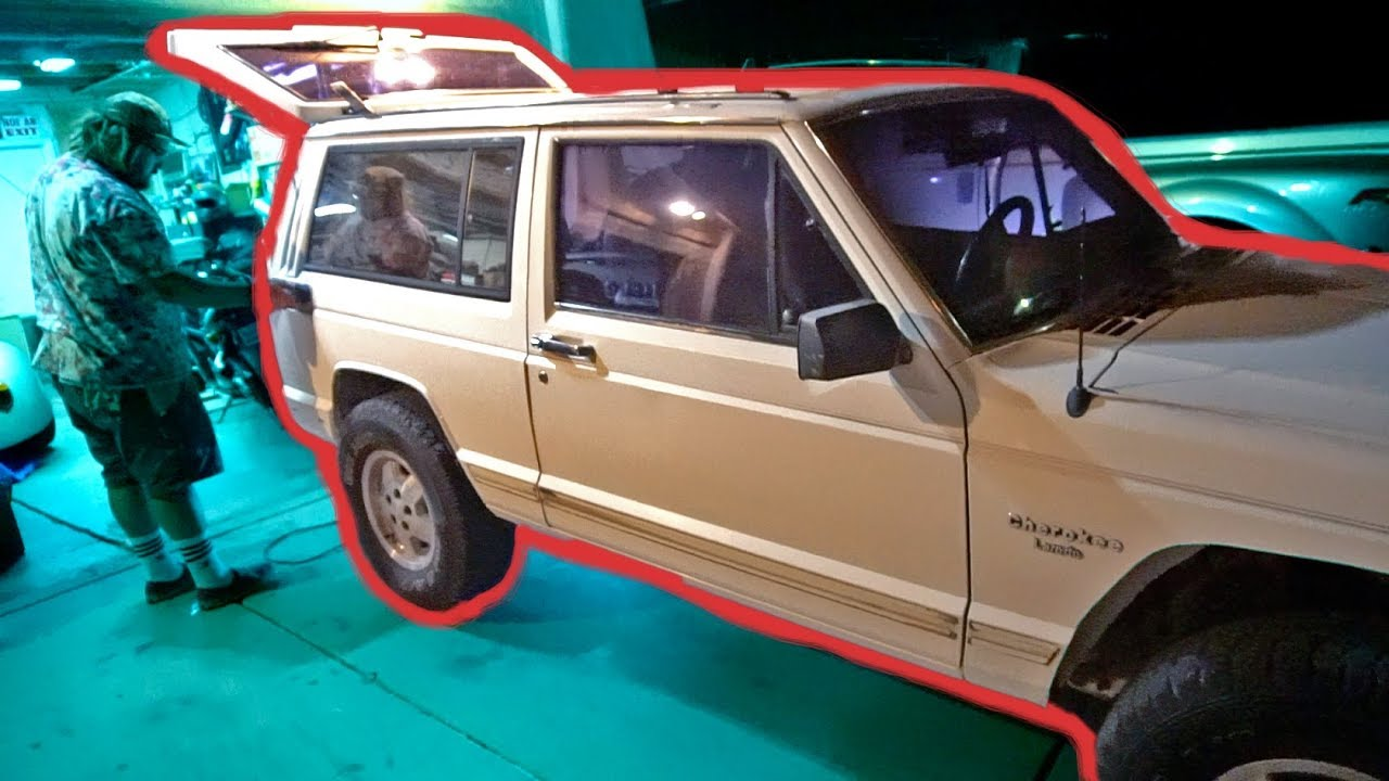 Fixing The Jeep Cherokee Issues Xj Door Handle Fix Youtube