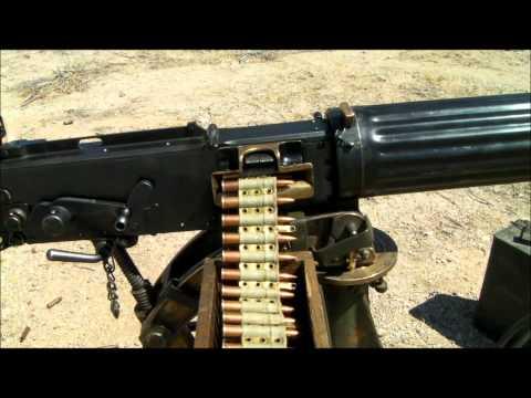 Vickers Machine Gun Video