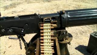 Vickers Machine Gun Video