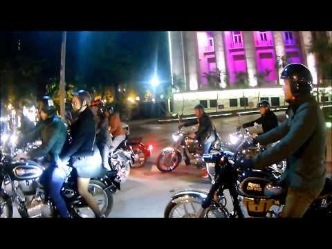 Hà Nội sáng rực cùng Clb motor Hanoi Royal Riders