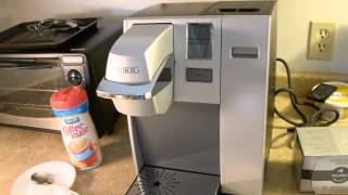 Unboxing And Viewing My New Keurig K155 Office Pro Premiere
