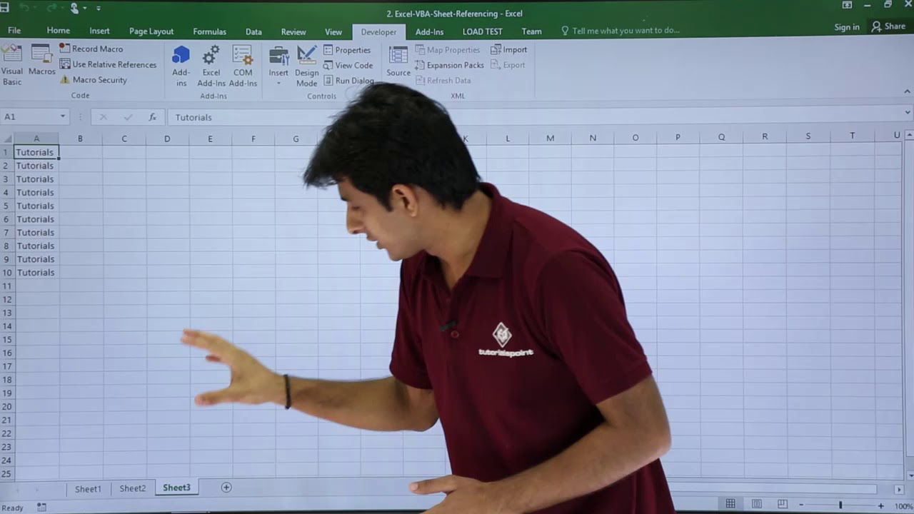 Excel VBA - Sheets Introduction