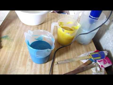 Homemade Cold Process Soap, Makning Beach Bum