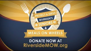 Video Donate to Meals on Wheels and Help Keep Riverside's Seniors Healthy download MP3, 3GP, MP4, WEBM, AVI, FLV Juni 2018
