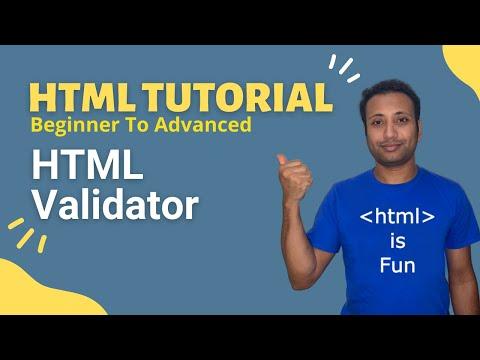 HSC ICT-L4.13 HTML Validator | Bangla HTML Tutorial thumbnail