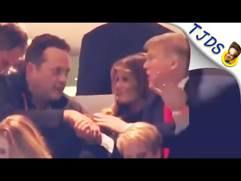 Vince Vaughn Responds To Being Seen w/Trump At Football Game