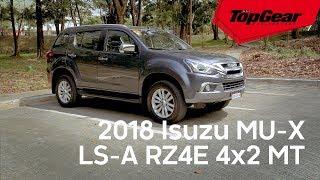 The Isuzu MU-X now comes with a 1.9-liter engine