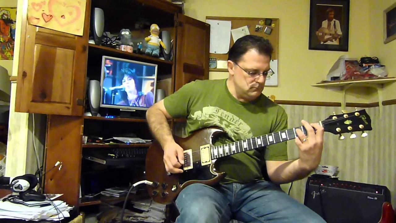 Joan Jett The Blackhearts Crimson And Clover Guitar Cover