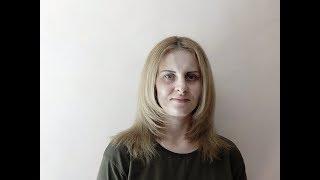 Стрижка длинных волос - лесенка