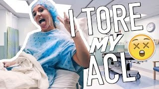 STORYTIME I BLEW MY KNEE OUT My ACL Surgery