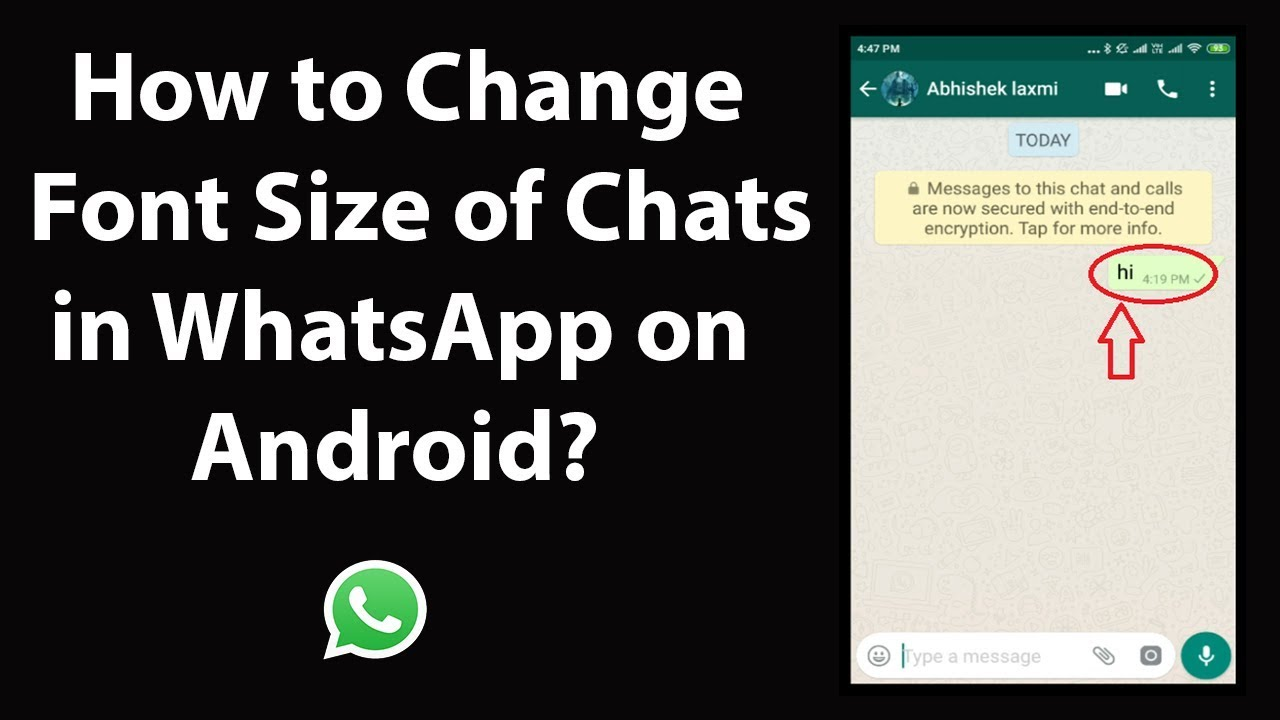 How To Change Font Size And Style On Whatsapp In 2021 Techuntold