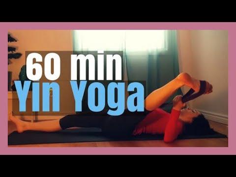 1 Hour Yin Yoga Beginners Full Body Yoga Stretch Youtube