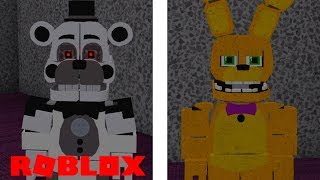 Finding The Final 2 Event Animatronic Badges in Roblox Ultimate Custom Night RP