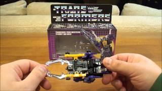 G1 Transformers Review: Shrapnel Transformer