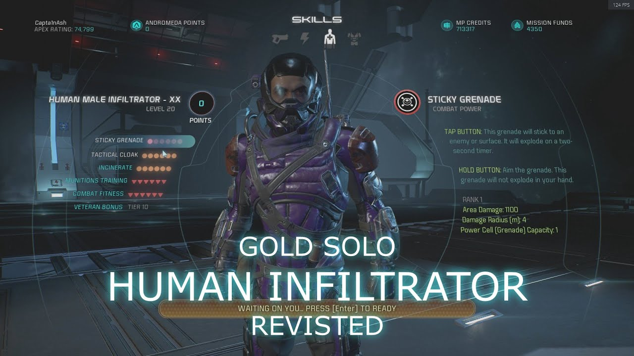 Mass Effect Andromeda Solo Gold