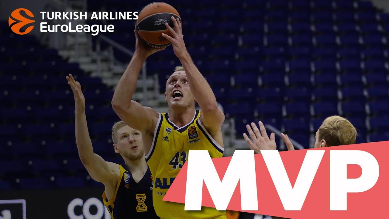 THY EuroLeague 11. hafta MVP'si: Luke Sikma, ALBA Berlin Videosu