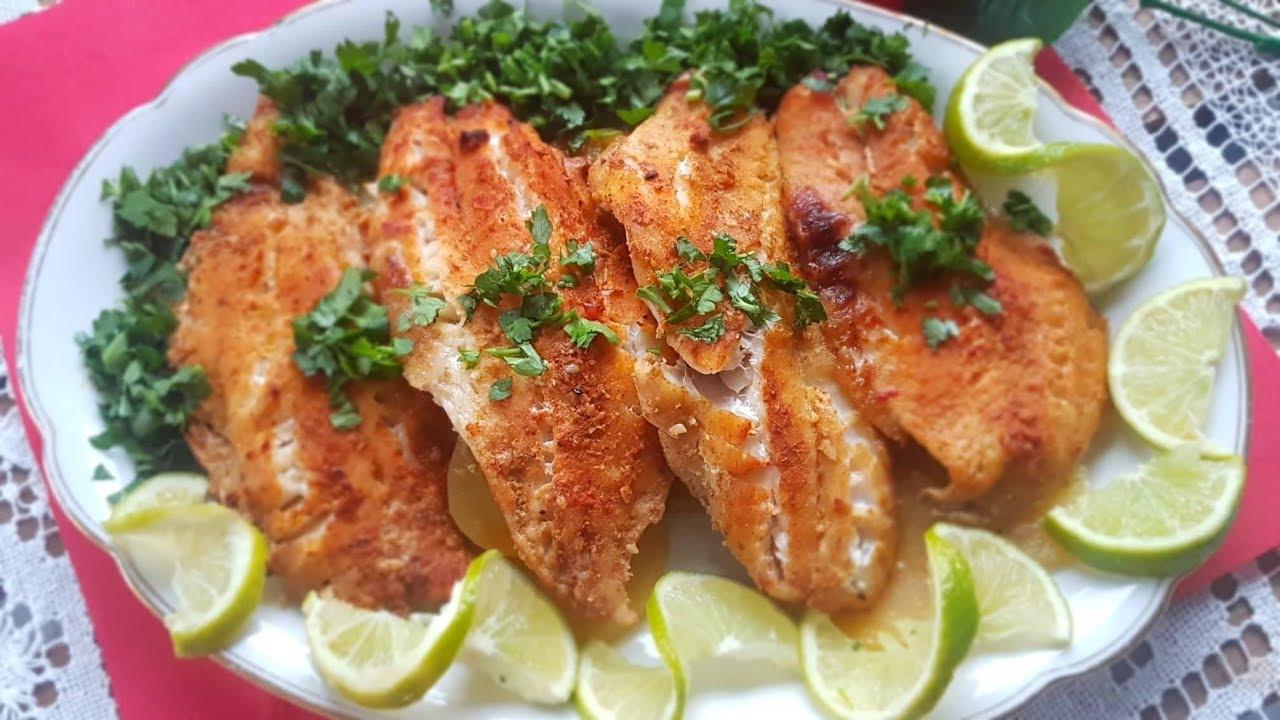 فيليه السمك المشوي بالفرن مع البطاطا بطريقة صحية وطعم خرافي وصفه تستحق التجربة من مطبخناالشامي Youtube