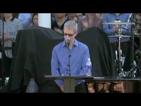 A celebration of Steve's life (Apple, Cupertino, 10/19/2011)
