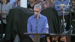 A celebration of Steve's life (Apple, Cupertino, 10/19/2011) HD