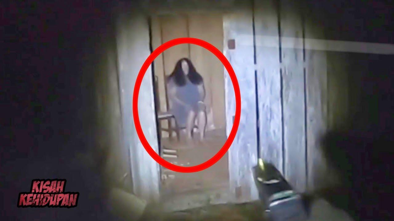 Hantu Tanpa Wajah Muncul di Rumah Kayu..! 5 Penampakan Hantu Terjelas dan Menyeramkan