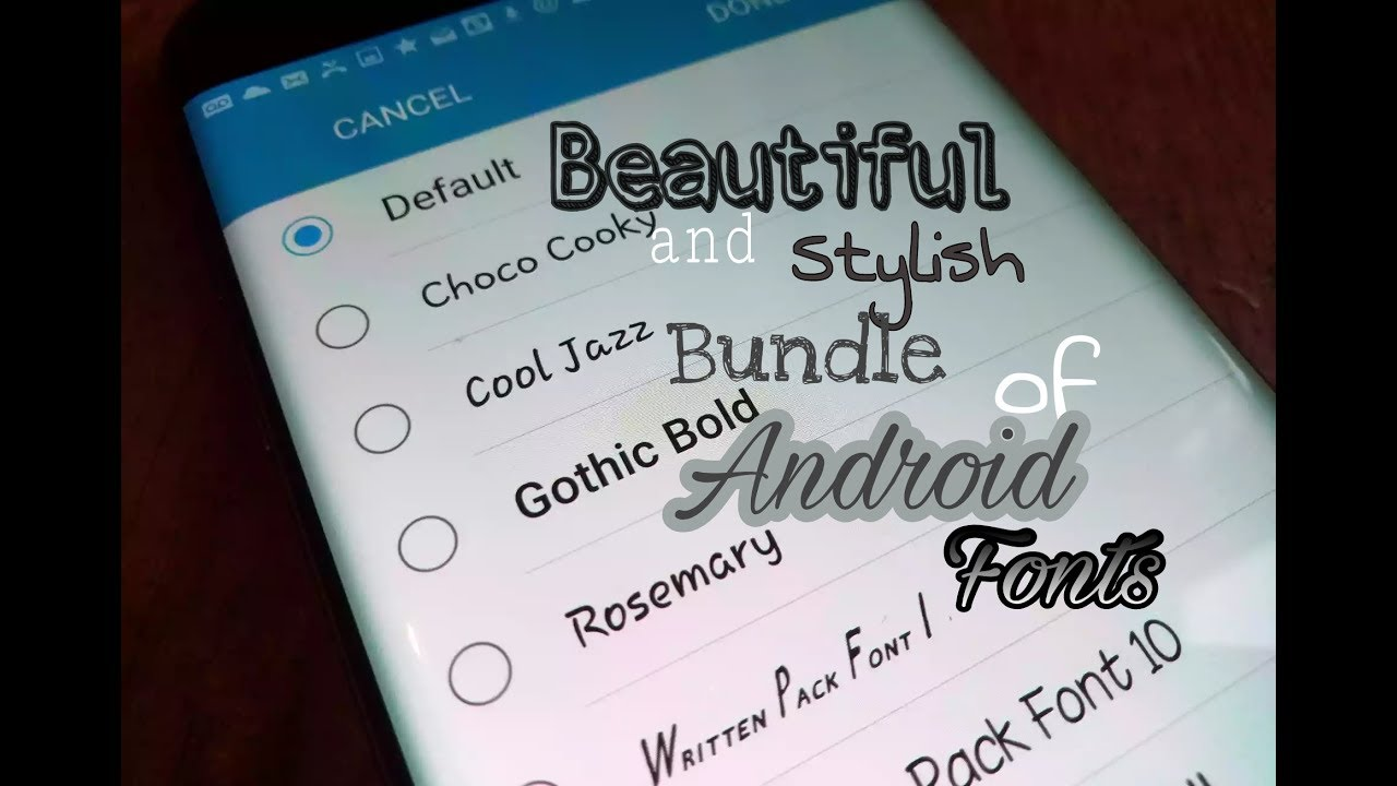 Stylish english fonts free download for android pictures
