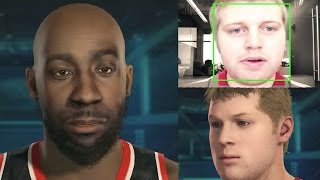 NBA 2k15 New Feature - Face Scanning Using PlayStation®Eye Camera & Xbox Kinect - Scan Into MyCareer