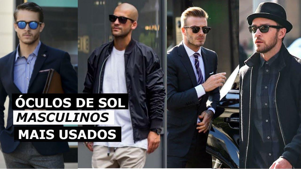 df8385bd4 5 Tipos de Óculos de Sol Masculinos Mais Usados - Diego Pereira