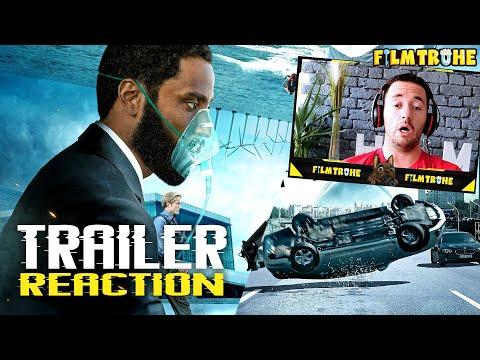 TENET Trailer Reaction ( Deutsch / German) I FILMTRUHE 🎬