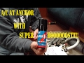 How to install a hard start capacitor in a sailboat.