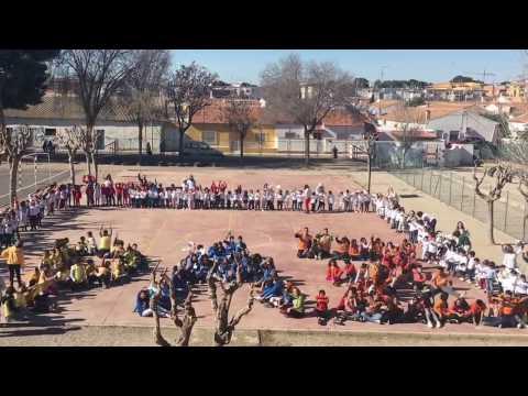 """Lipdub Día de la Paz """"Bajo el mismo sol"""" CEIP LA PAZ de San Javier (Murcia)"""