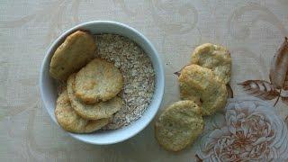 Диета! Печенье с творогом и овсянкой