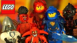 Кока Все Серии - Lego Nexo Knights + Мультики + Игра - Видео Обзор на русском языке