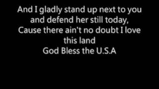 Lee Greenwood - God Bless the USA (with Lyrics)