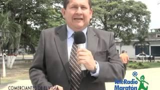 COMERCIANTES DEL MUNICIPIO ALBERTO ADRIANI APOYAN AL TELERADIOMARATON