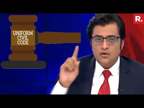 Triple Talaq Over, Now Focus On Uniform Civil Code   The Debate With Arnab Goswami