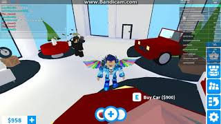 Roblox Adopt Me:Buying A Car Ft.nothingyoucando124