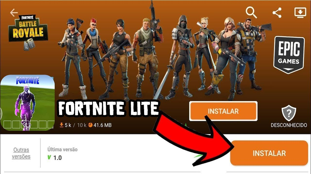 ✔️FORTNITE ANDROID LITE DISPONIBLE YA EN APTOIDE! VERDAD O FAKE? (1.5gb de ram y GAMA BAJA)  #Smartphone #Android