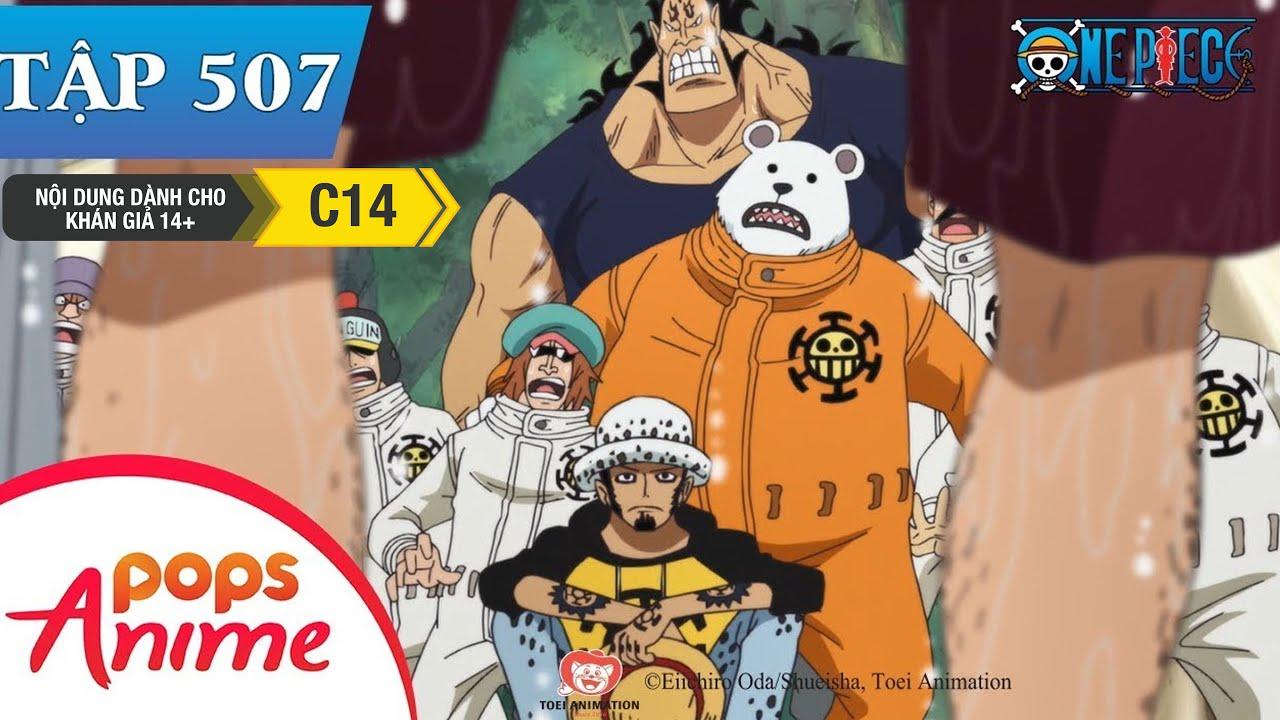 One Piece Tập 507 – Cuộc Tái Ngộ Với Rayleigh! Thời Khắc Quyết Định Của Luffy – Đảo Hải Tặc