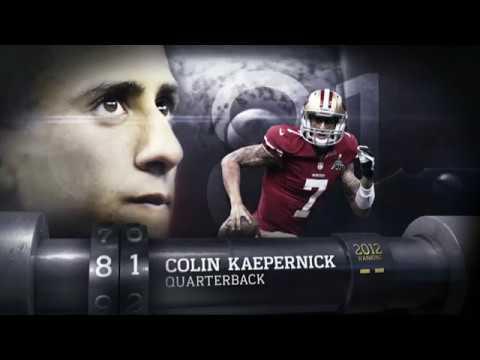 #81 Colin Kaepernick (QB, 49ers) | Top 100 Players of 2013 | NFL