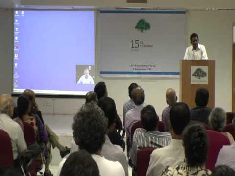 16th Foundation Day of IIIT Hyderabad - Shri Srini Raju