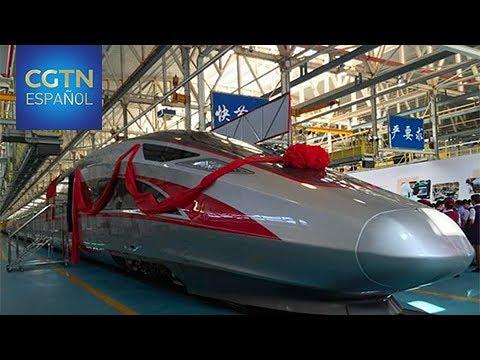 Nuevos trenes para transitada línea de alta velocidad Beijing-Shanghai