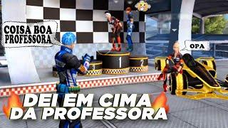 DEI EM CIMA DA MINHA PROFESSORA (EP 51) - FREE FIRE HISTÓRIA